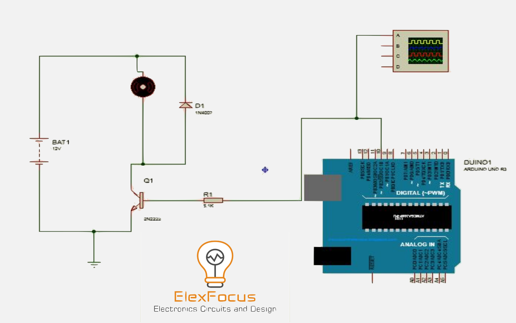 Speed Control Of Dc Motor Using Arduino Applying Pwm Elex Focus 555 Timer A Complete Basic Guide
